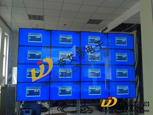 帝艾帝4x4液晶拼接墙进驻山东章丘市级人民法院