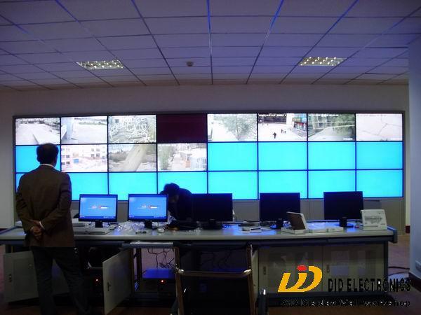 帝艾帝3x9液晶拼接应用于兰州创智天瑞电子