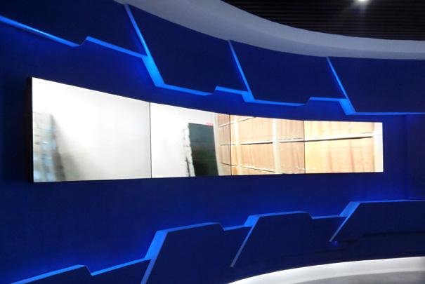 帝艾帝液晶拼接屏入驻北京某文化公司
