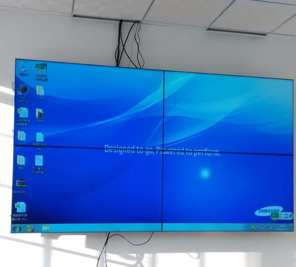 四川某公司帝艾帝2×2液晶拼接系统应用案例