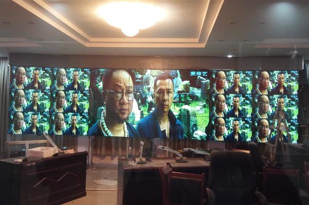 帝艾帝55寸液晶拼接屏成功入驻西藏某公安局
